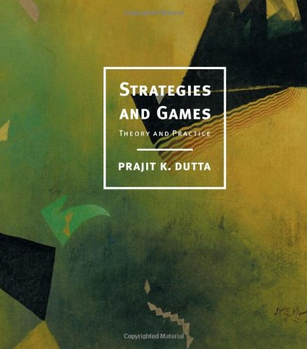 Strategies And Games: Theory And Practice front-902021