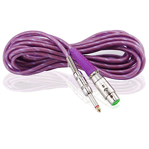 proslogan 19 7 ft xlr to 1 4 mic wire for wired microphone color lavender microphone buy. Black Bedroom Furniture Sets. Home Design Ideas