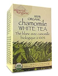 Uncle Lee's Imperial Organic Tea - White Chamomile, 18-Count (Pack of 4)