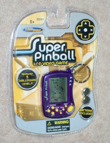 Super Pinball Keychain Games, Key Chain - 1