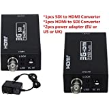 Generic Mini 3G HDMI To SDI Converter Adapter HD To BNC SDI/HD-SDI/3G-SDI 1080P Multimedia HD Video Converter...
