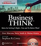 img - for businessThink: Rules for Getting It Right - Now and No Matter What! book / textbook / text book