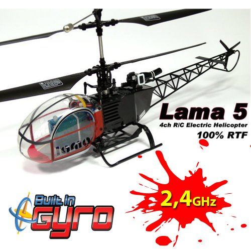 Esky® 4 CHANNEL 2.4G 300 Co-Axial Lama V3 RTF RC Helicopter