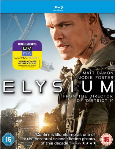 Elysium [Blu-ray] [UK Import]