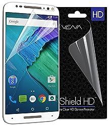 Motorola Moto X Pure Edition / Moto X Style Screen Protector - Vena vShield [Ultra Clear HD] Shield For Motorola Moto X Pure Edition / Moto X Style - 3-Pack
