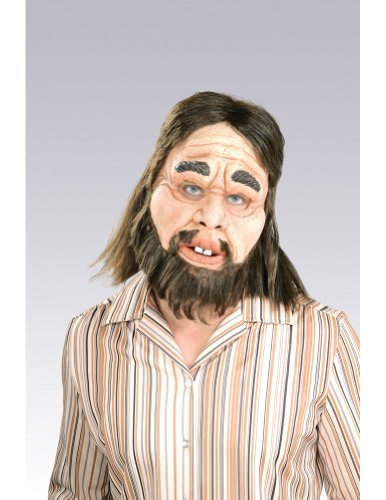 Scary-Masks Caveman Mask Halloween Costume - Most Adults