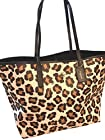 Coach - 35874 - Ocelot Print Large Shoulder Bag Tote