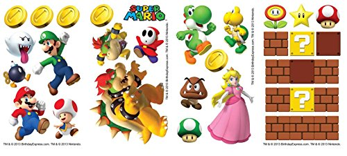 Super Mario Party Small Wall Decals - 1