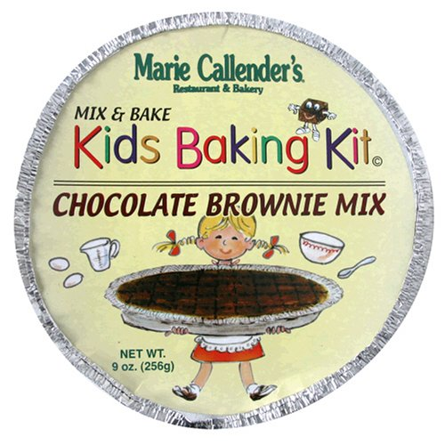Buy Marie Callender's Kid's Baking Kit, Chocolate Brownie Mix, 9-Ounce Container (Pack of 6) (Marie Callender's, Health & Personal Care, Products, Food & Snacks, Baking Supplies, Baking Mixes, Brownie Mixes)