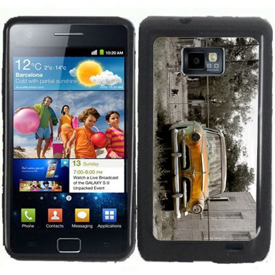 S2 Old Rusty Car Samsung Galaxy S2 / Sii I9100 Case Cover