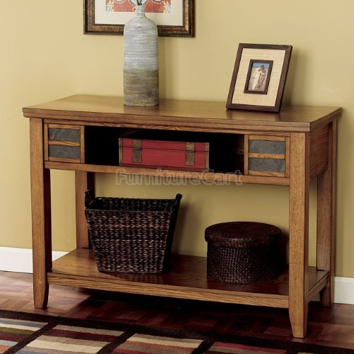 Cheap Cottage Light Ash Sofa Console Table (T674-4)