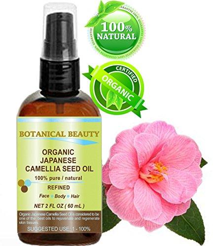 Botanical Beauty Japanese ORGANIC CAMELLIA SEED OIL. 100% Pure ...
