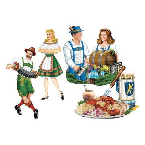 Oktoberfest Cutouts   (4/Pkg)