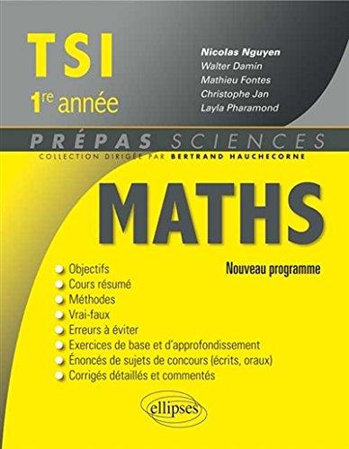 maths-tsi-1re-annee-programme-2013