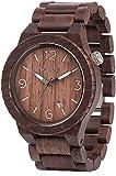 Amazon.co.jp[ウィウッド]WEWOOD 腕時計 ウッド/木製 ALPHA CHOCOLATE カレンダー 9818022 メンズ 【正規輸入品】