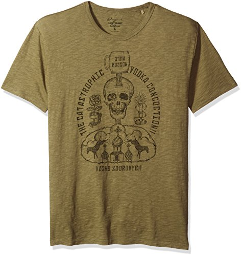 lucky-brand-mens-moscow-mule-graphic-tee-burnt-olive-x-large