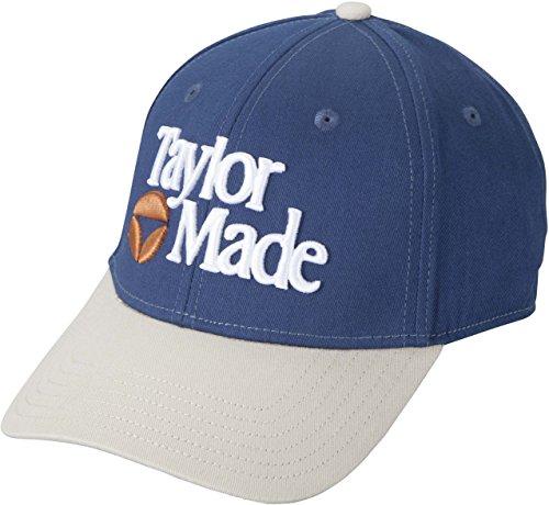 2015-taylormade-tm-1983-adjustable-mens-golf-cap-navy-stone