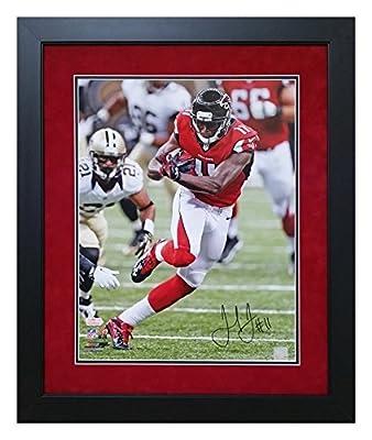 Julio Jones Atlanta Falcons Autographed and Custom Framed 16x20 Photo