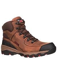 Rocky Mens Adaptagrip Composite Toe Waterproof Work Boots