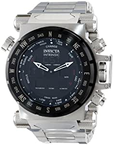 Invicta Men's 13073 Intrinsic Analog-Digital Display Swiss Quartz Silver Watch