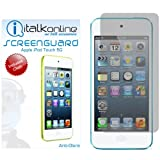 ITALKonline S-Protect Anti-Glare LCD Screen Protector & Micro Fibre Cleaning Cloth for Apple iPod Touch 5 5G (5th Generation) 8GB, 32GB, 64GB