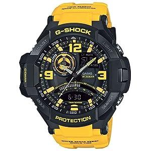 Reloj Casio G-shock Ga-1000-9ber Hombre Naranja