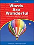 img - for Words Are Wonderful - Student Book 1 book / textbook / text book