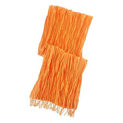 (ポロ ラルフローレン)POLO RALPH LAUREN スカーフ Crinkled Cotton Scarf サマーコーラル Summer Coral 【並行輸入品】