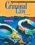 img - for Criminal Law, 2nd Edition (Black Letter Outlines) book / textbook / text book