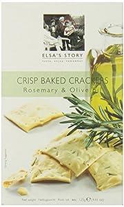 Elsa's Story Rosemary and Olive Oil Crisps