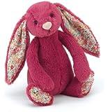 Jellycat - Little Jellycat Bashful Blossom Rose Bunny Baby (BLB6RBN)