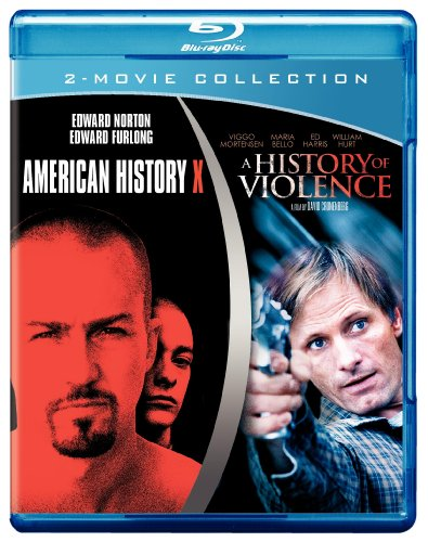 Blu-ray : American History X / A History of Violence (Blu-ray)