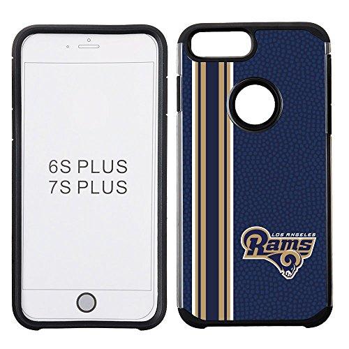 nfl-los-angeles-rams-vertical-stripes-football-pebble-grain-feel-iphone-7-plus-case