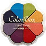 Clearsnap Colorbox Fluid Chalk Petal Point Option Inkpad, Primary Pastels, 8 Colors Per Pad