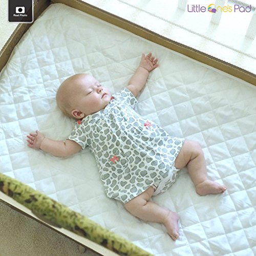 Little e s Pad Pack N Play Crib Mattress Cover Fits