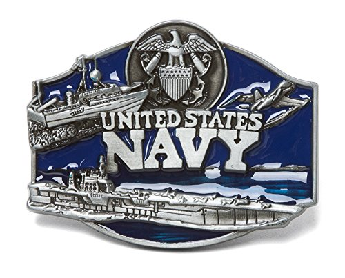 United States Navy Ships Belt Buckle