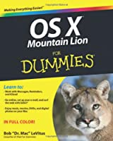 OS X Mountain Lion For Dummies Front Cover