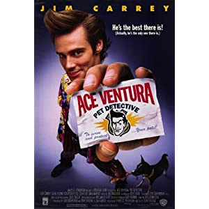 Ace Ventura: Pet Detective Poster Movie 11x17 Jim Carrey Dan Marino Courteney Cox Arquette