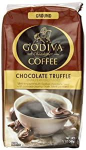 Godiva Chocolate Truffle Coffee, 12-Ounce (Pack of 2)