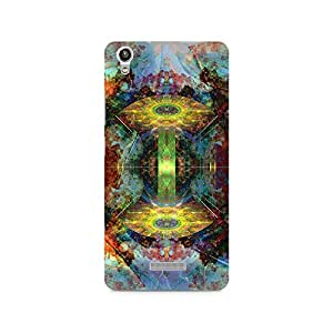 Mobicture Trippy Symmetry Premium Printed Case For Lava Pixel V1