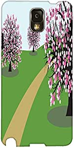 Snoogg Abstract Illustration Of A Background With Trees Designer Protective B...