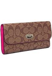 Coach F52681 Checkbook Wallet