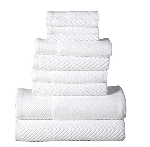 affinity-home-collection-10-piece-elegance-spa-100-egyptian-cotton-jacquard-towel-set-white