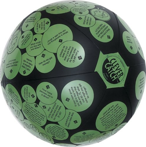 "American Educational Vinyl Clever Catch Money Ball, 24"" Diameter"