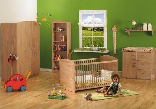 Herlag-H1969-900-Kinderzimmer-Anna-Buche-massiv-lackiert-Kinderbett-inklusiv-Umbauseiten-Wickelkommode-Kleiderschrank-2-trig