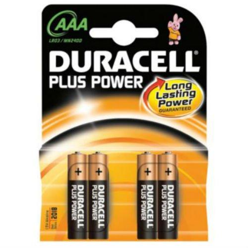 Duracell Plus simple d'utilisation-Piles alcalines AAA-Pack de 4