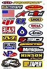 Motocross Motor Racing Cycle Tuning Kit Logo Dirt Bike Racing Decor Decal Sticker Decals G /Sheet Size 10.5 X 7