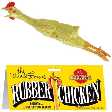 Rubber Chicken Classic Prank (1 per package)