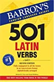 img - for 501 Latin Verbs (Barron's 501 Latin Verbs) book / textbook / text book