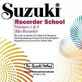 Suzuki Recorder School (Alto Recorder), Volume 1 & 2 (CD) (The Suzuki Method)